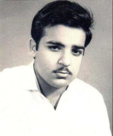 Shahbaz Sharif - Teenage Photo