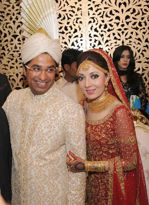 Sharmila Farooqi With Her Husband On Barat