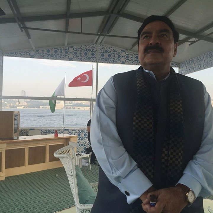 Sheikh Rasheed Ahmed in Turkey