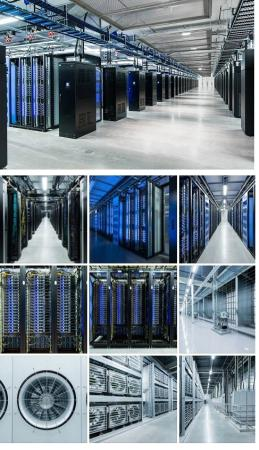 Facebook Data & Server Center in Sweden