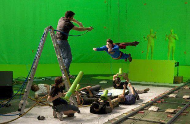 Making of Super man