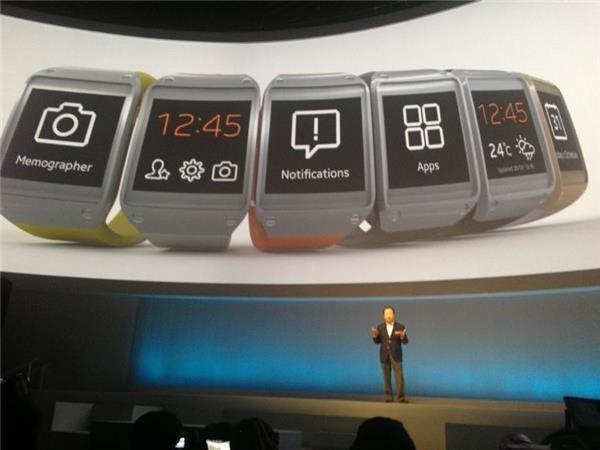 Samsung Galaxy Gear smartwatch launched