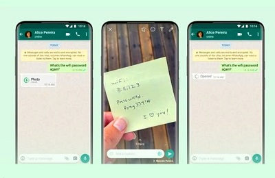 Whatsapp Launched New 'View Once' Media Feature