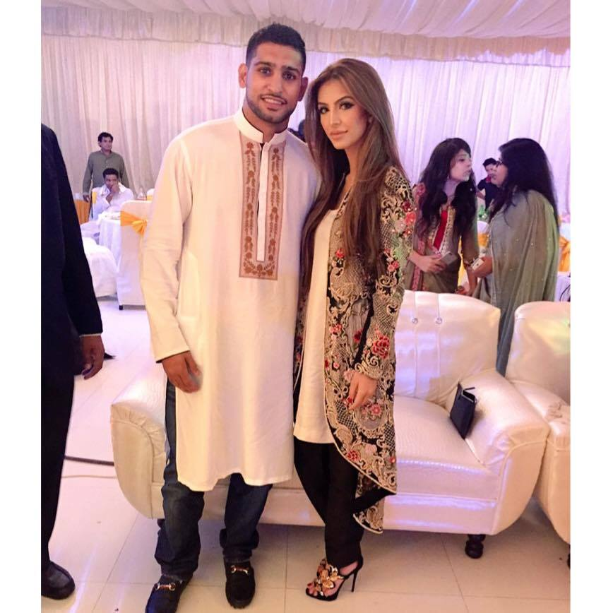 Amir Khan And Faryal Makhdoom Spotted In Pakistan Wedding
