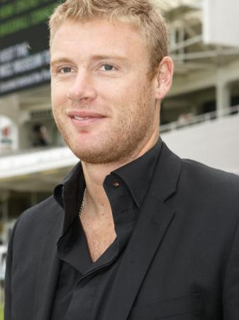 Andrew Flintoff famous England cricketer