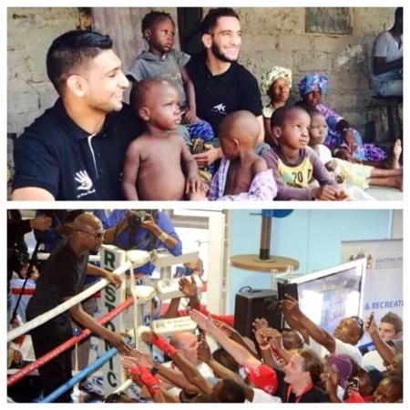 Difference Between Floyd Mayweather & Amir Khan