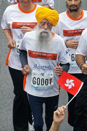 Fauja Singh - Last Marathon of Oldest Athlete