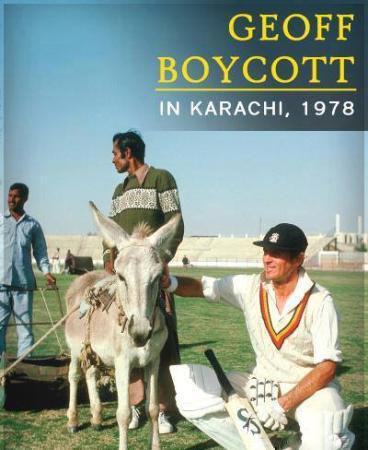 Geoff Boycott In Karachi, 1978