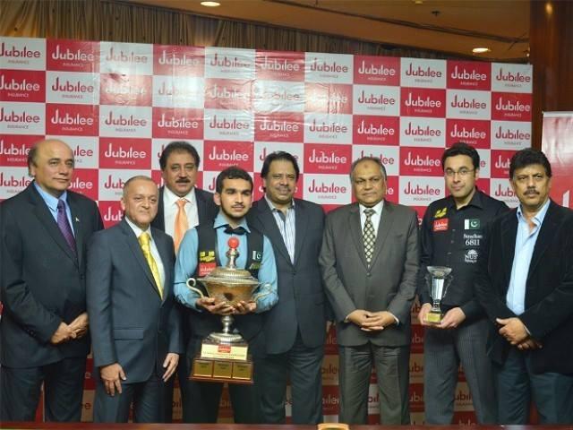 Hamza Akbar Won Second National Snooker Title
