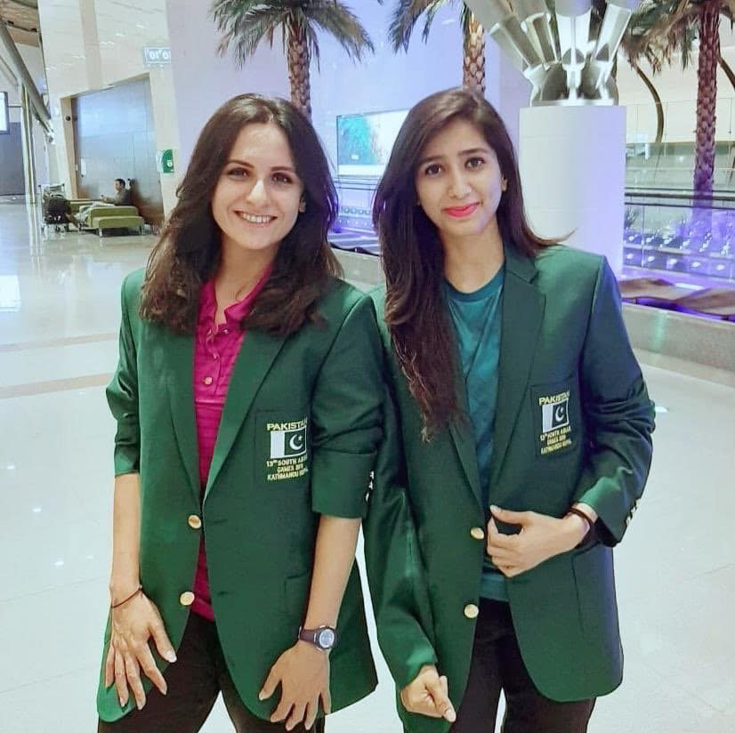 Mahoor Shahzad And Palwasha Bashir Have Qualified For The Final Of Women's Doubles Badminton Series
