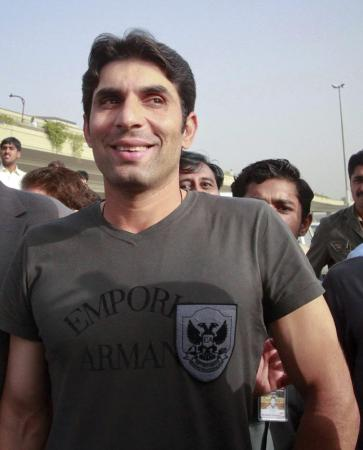 Misbah-ul-Haq - famous pakistani cricketer
