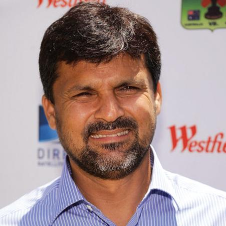 Moin Khan - famous pakistani cricketer
