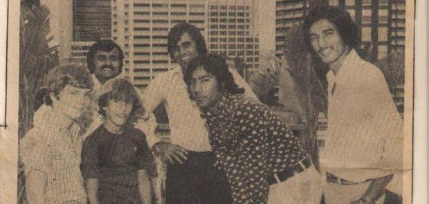 Mudassar Nazar, Sikandar Bakht, Iqbal Qasim and Haroon-ur-Rasheed