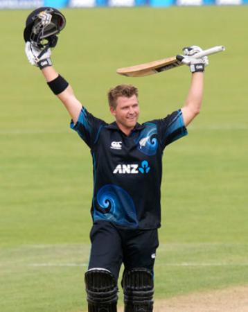 New Zealand player Corey Anderson break afridi fastest ODI century record against West Indies
