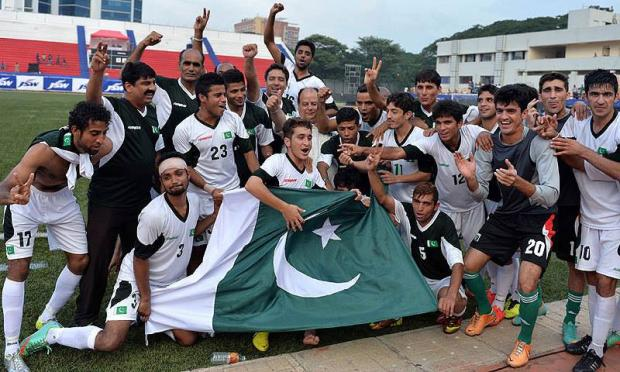 Pakistan Football Team Defeats India By 2-0