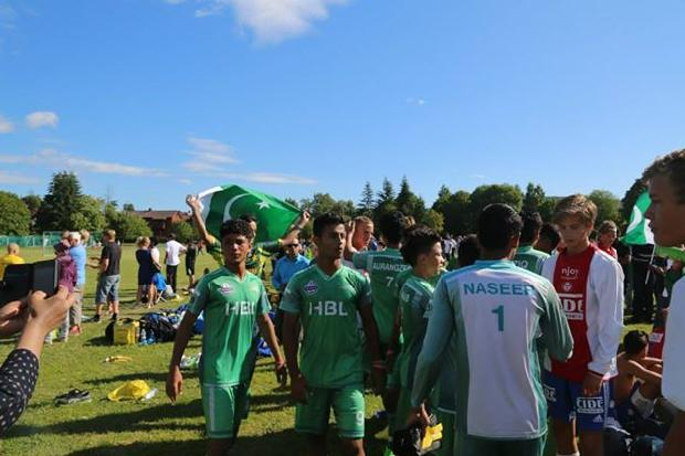 Pakistan Won Street Child Football Match Norway Cup 2014