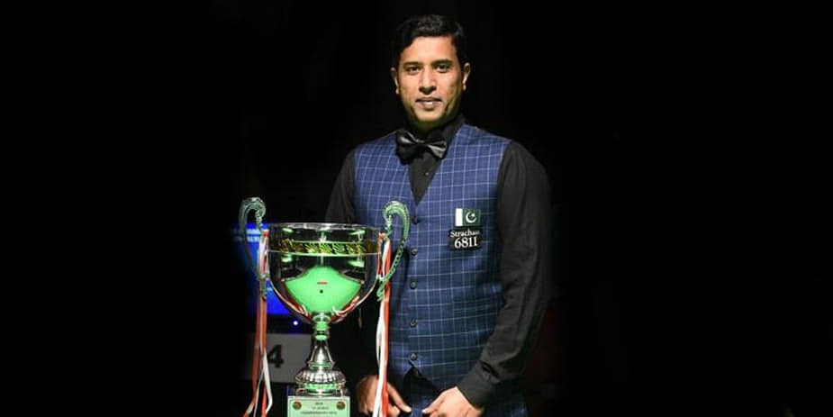 Pakistan's Mohammad Asif Has Won The IBSF World Snooker Championship
