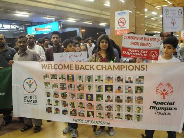 Pakistan's Special Olympics Heroes Come Back Pakistan