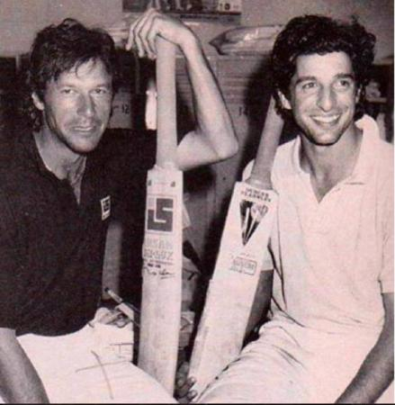 Pakistani Legends - Imran Khan & Wasim Akram