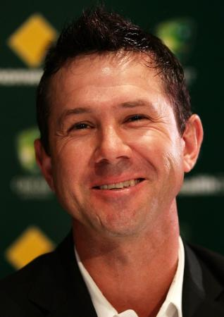 Ricky Ponting famous Australian cricketer