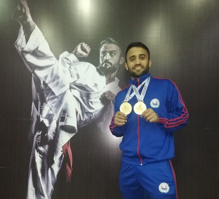Saadi Abbas Wins Gold Medal At South Asian Games 2019 In 75kg Category Of Karate