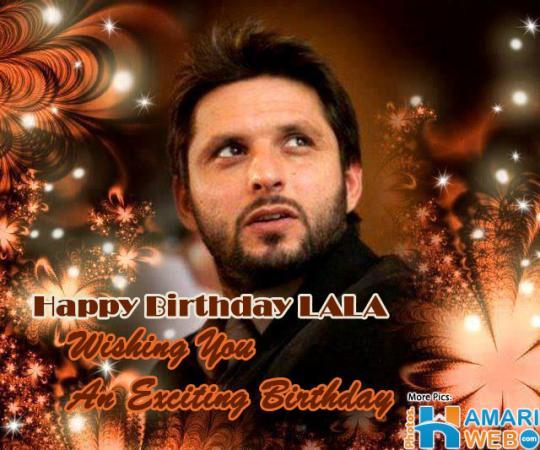 Shahid Afridi Birthday