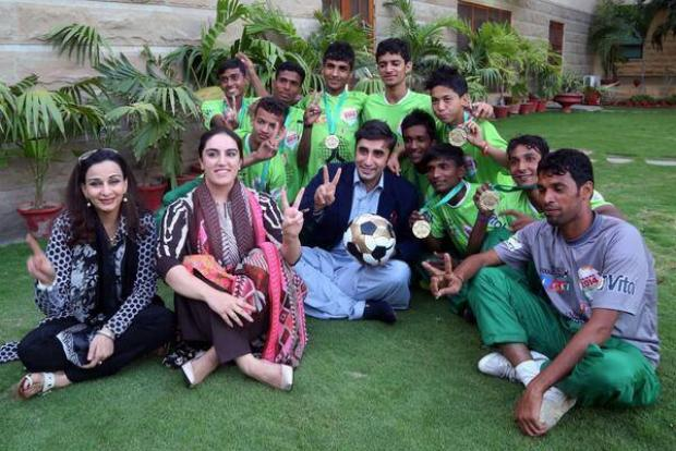 Street Child Football World Cup Team Welcomed At Bilawal House