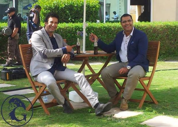 Wasim Akram and Waqar Younus together for Twenty20