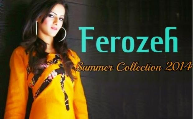 Ferozeh Collection Lawn Summer Collection
