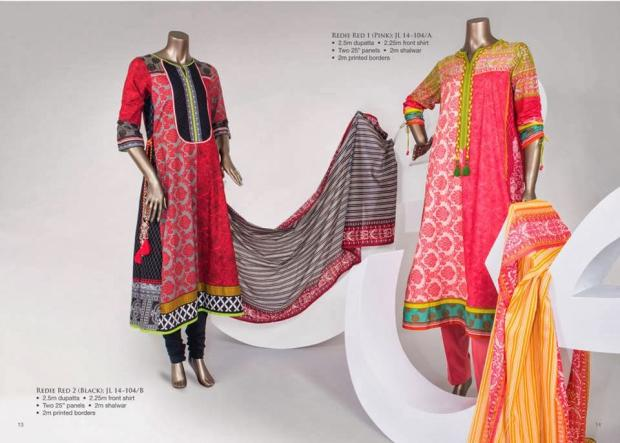 Junaid Jamshed Lawn Summer Collection