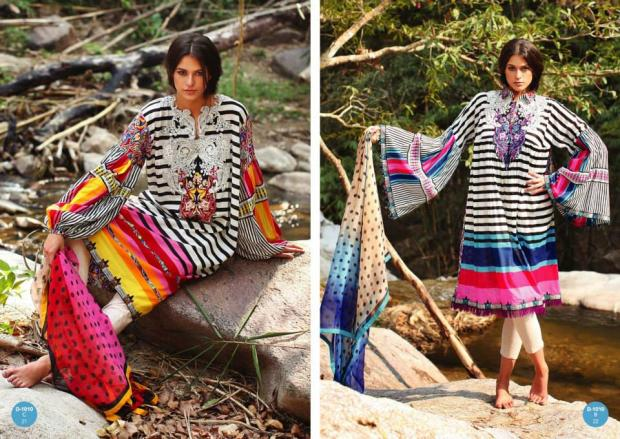 Komal Collection Lawn Summer Collection