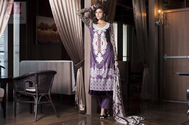 Mahnoor Collection Lawn Summer Collection