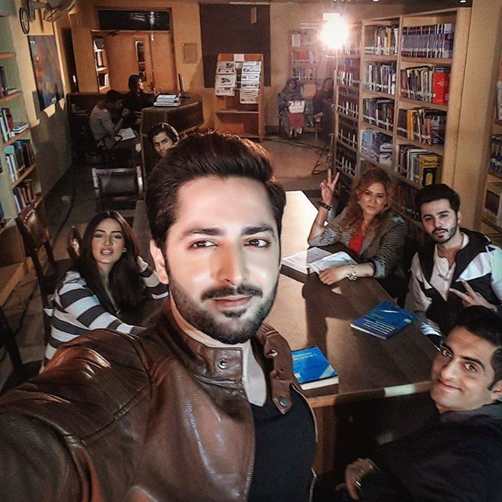 Mathira, Ahmed, SaimAli With Danish Taimoor