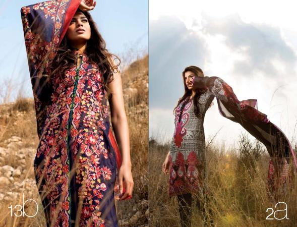 Sana Safinaz Lawn Summer Collection