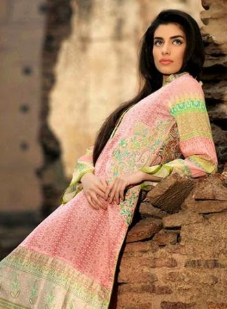 Umar Sayeed Lawn Summer Collection