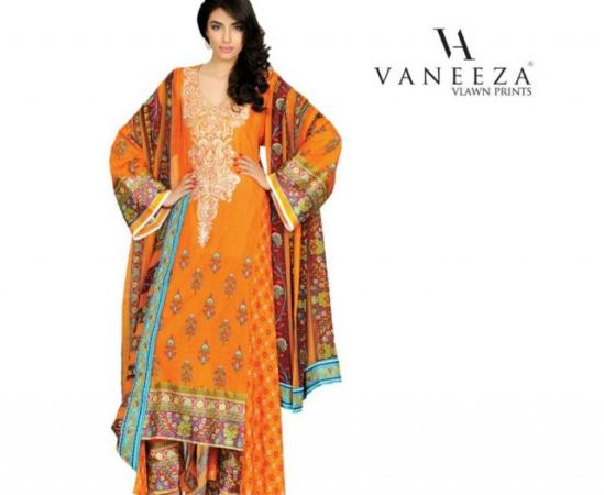 Vaneeza Lawn Summer Collection
